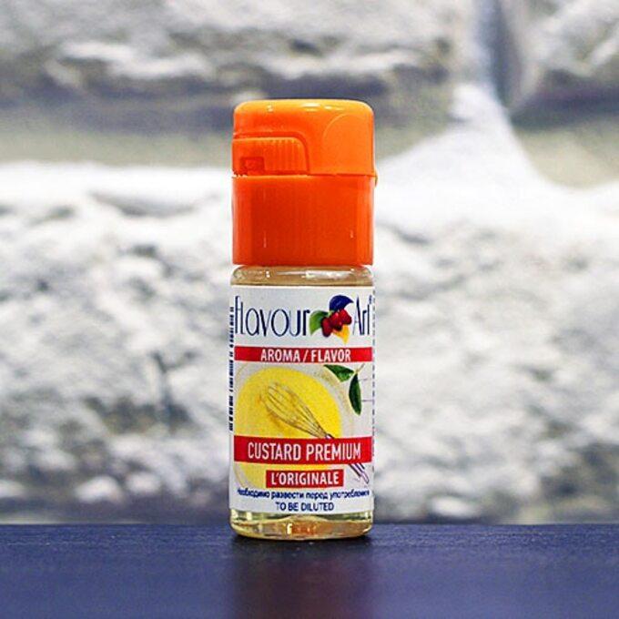FlavourArt Vanilla Custard Premium