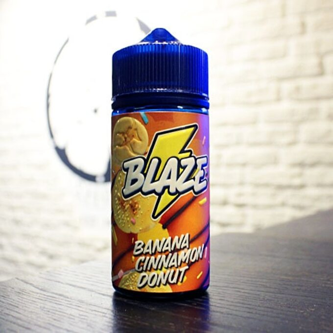 Жидкость для вейпа Blaze Banana Cinnamon Donut