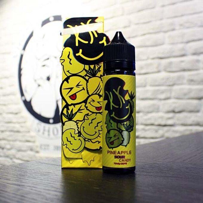 Жидкость для вейпа Acid Juice Pineapple Sour Candy