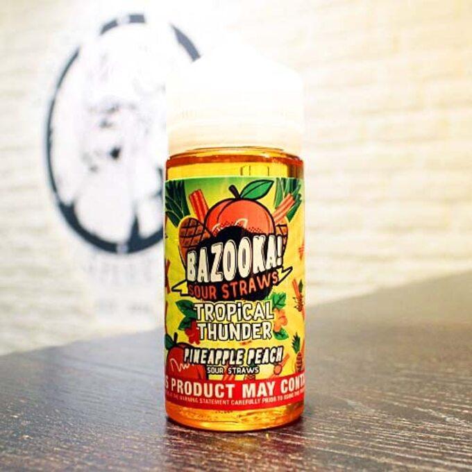 Bazooka Tropical Pineapple Peach