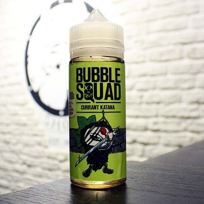 Жидкость для вейпа Bubble Squad Currant Katana