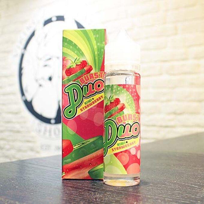 Жидкость для вейпа Burst Duo Kiwi-Strawberry