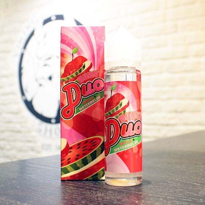 Жидкость для вейпа Burst Duo Apple-Watermelon
