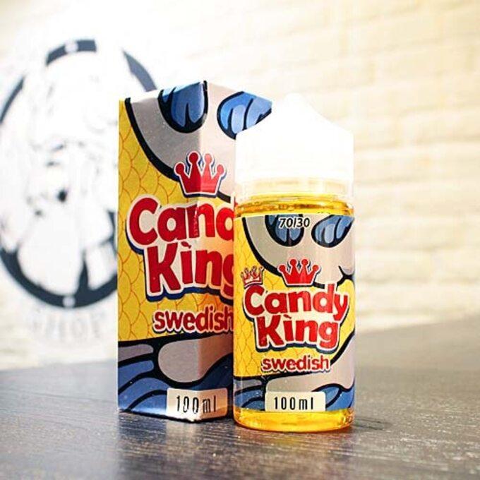 Жидкость для вейпа Candy King Swedish