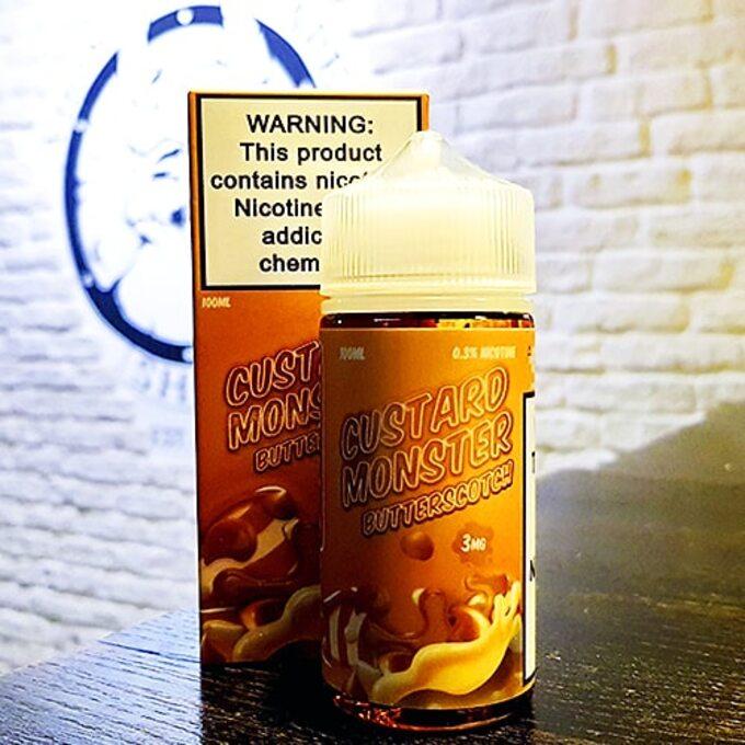 Жидкость для вейпа Custard Monster Butterscotch