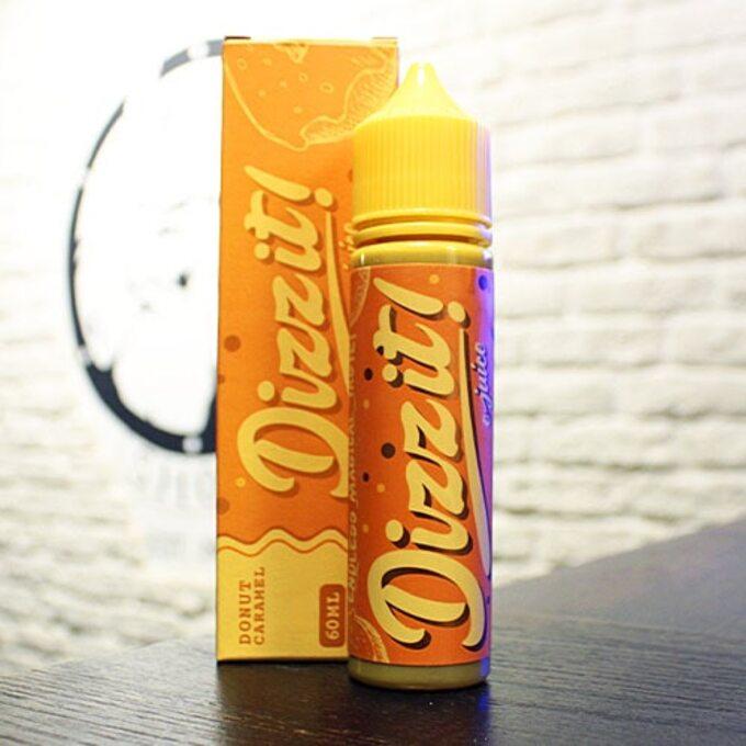Жидкость для вейпа Dizz It Donut Caramel