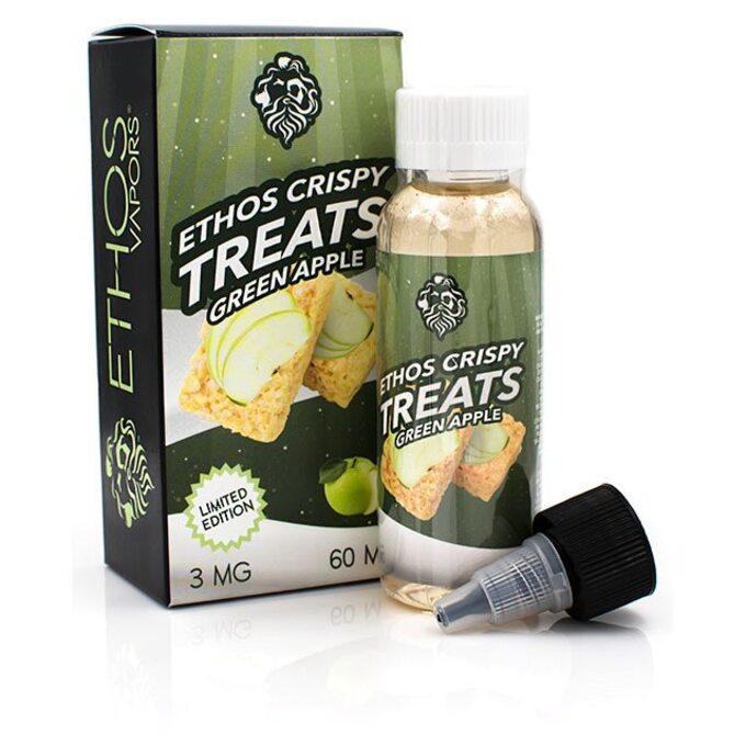 Жидкость для вейпа Ethos Crispy Treats Green Apple