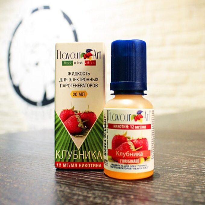 Жидкость для вейпа Flavour Art Red Touch (Strawberry)