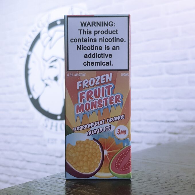 Жижа для вейпа Fruit Monster Frozen Passionfruit Orange Guava