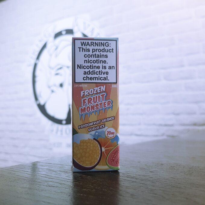 Солевая жижа для вейпа Fruit Monster Frozen SALT Passionfruit Orange Guava