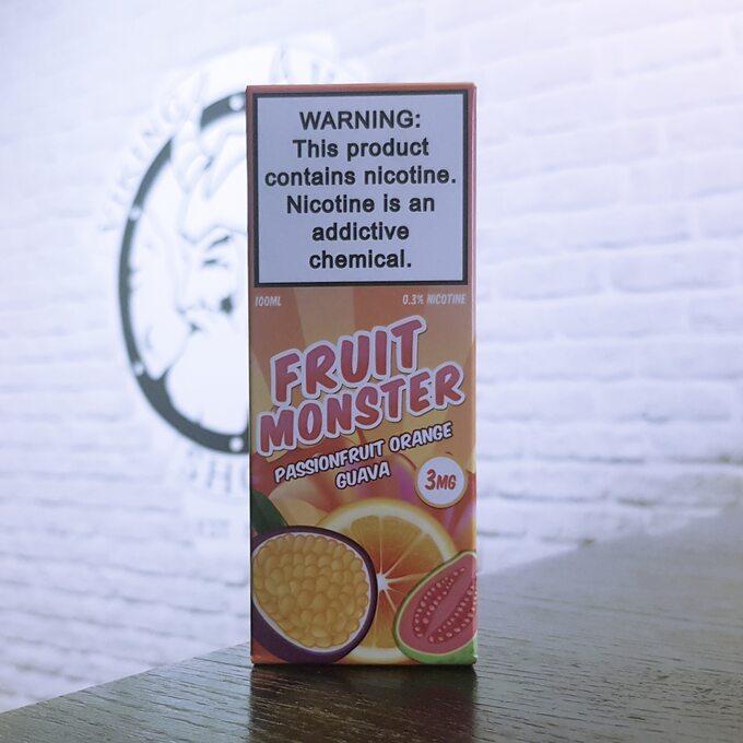 Жижа для вейпа Fruit Monster Passionfruit Orange Guava