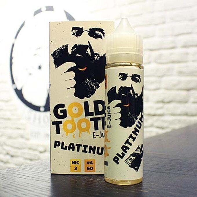 Жидкость для вейпа Gold Tooth Platinum