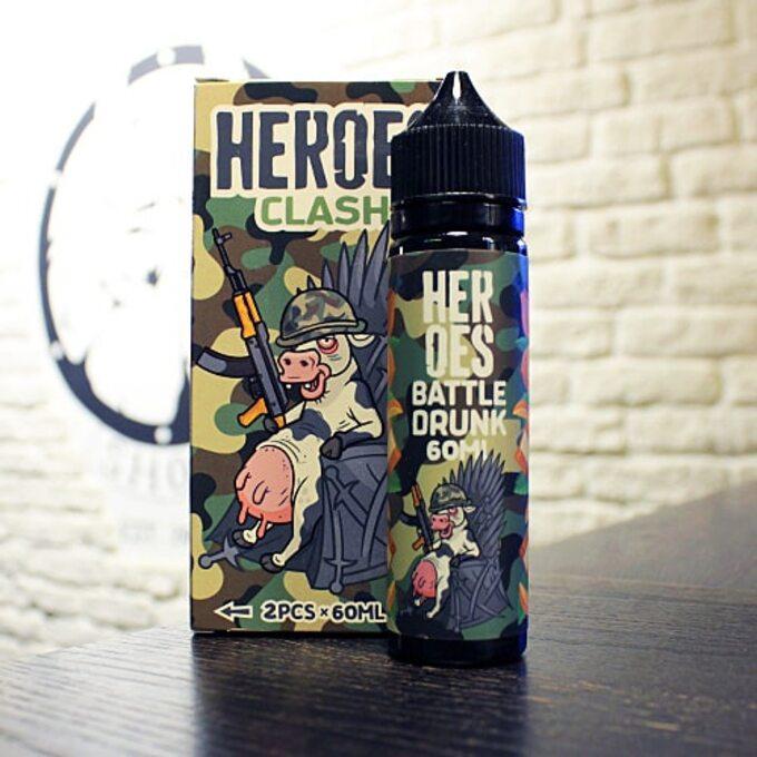 Жидкость для вейпа Heroes Battle Drunk