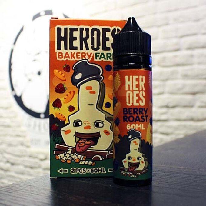 Жидкость для вейпа Heroes Berry Roast