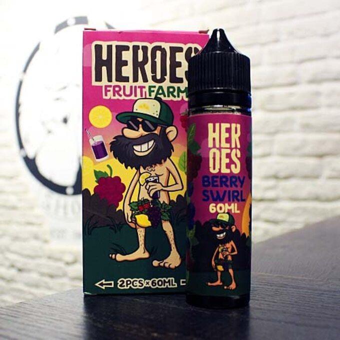 Жидкость для вейпа Heroes Berry Swirl