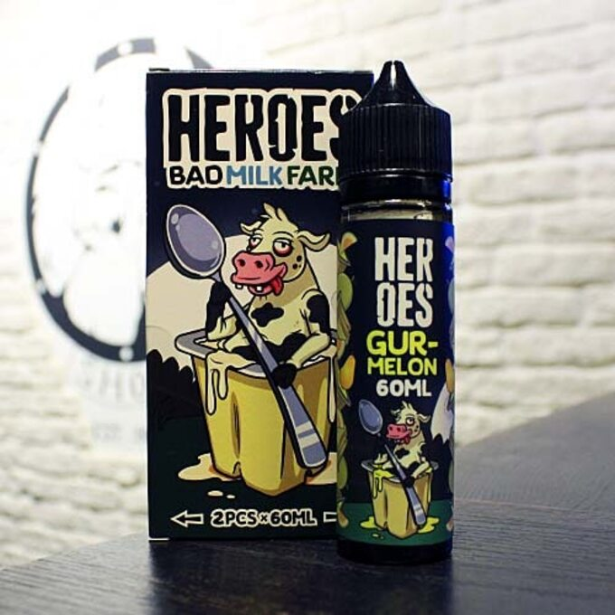 Жидкость для вейпа Heroes Gurmelon