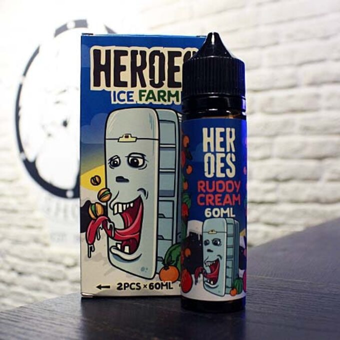 Жидкость для вейпа Heroes Ruddy Cream