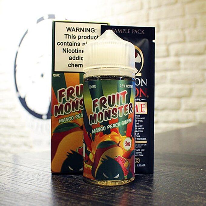 Жидкость для вейпа Fruit Monster Mango Peach Guava