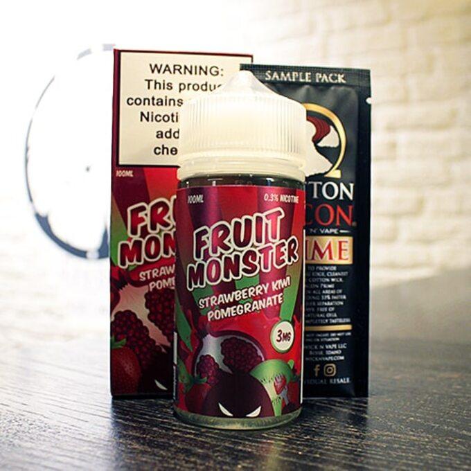 Жидкость для вейпа Fruit Monster Strawberry Kiwi Pomegranate