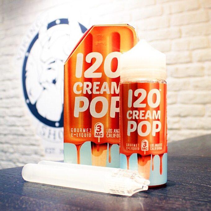 Жидкость для вейпа 120 Cream Pop