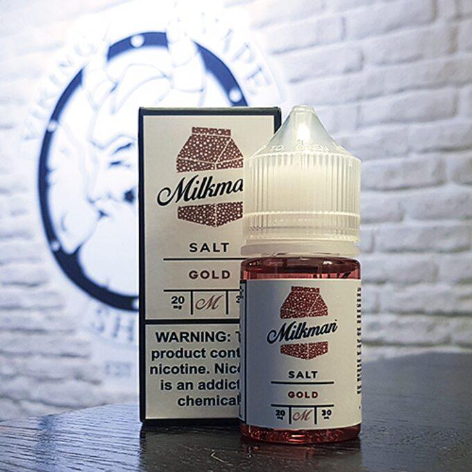 Солевая жидкость для вейпа Milkman Salt Gold