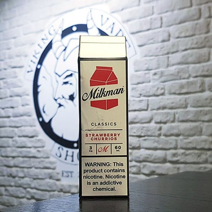 Жижа для вейпа Milkman Strawberry Churrios