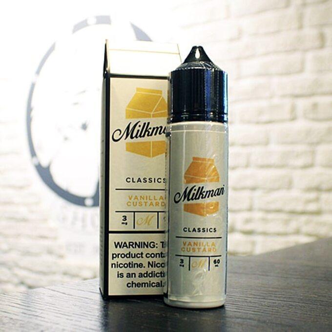 Жижа для вейпа Milkman Vanilla Custard
