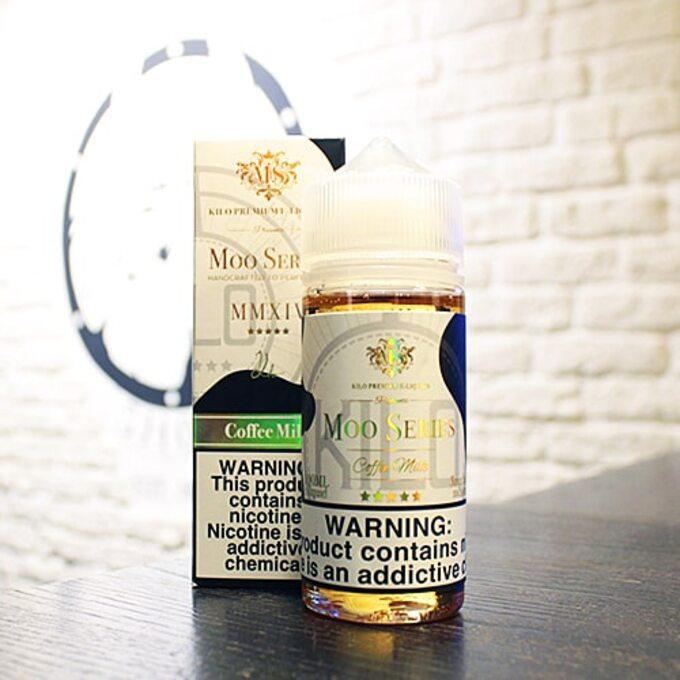 Moo E-Liquids Coffee Milk 100