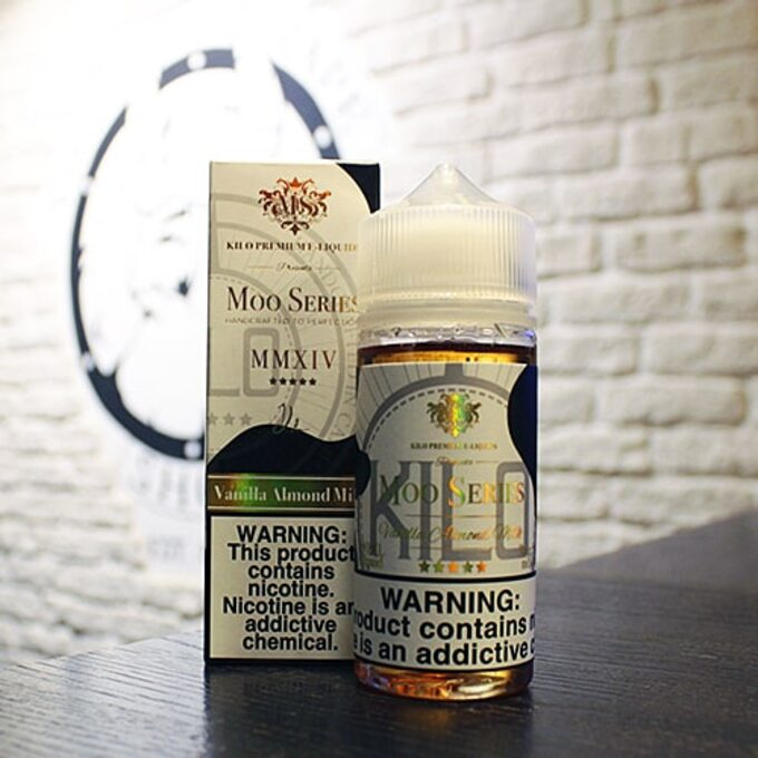Жижа для вейпа Moo E-Liquids Vanilla Almond Milk 100