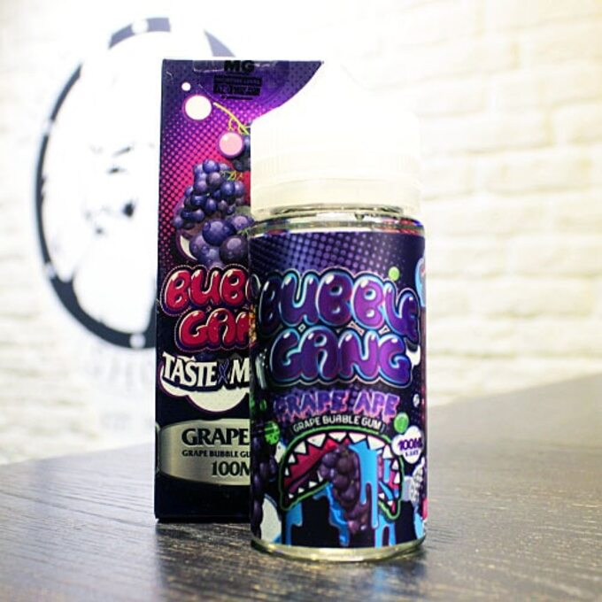 Жидкость для вейпа Bubble Gang Grape Ape