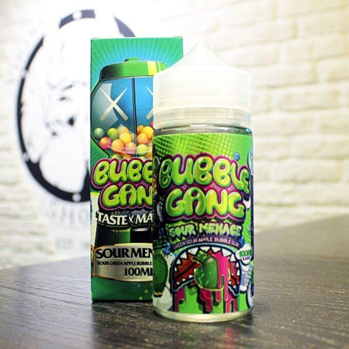 Жидкость для вейпа Bubble Gang Sour Menace By Okami