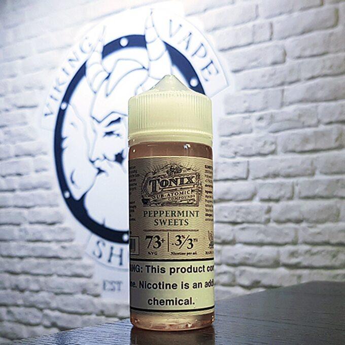 Жидкость для вейпа Tonix Dripper Peppermint Sweets