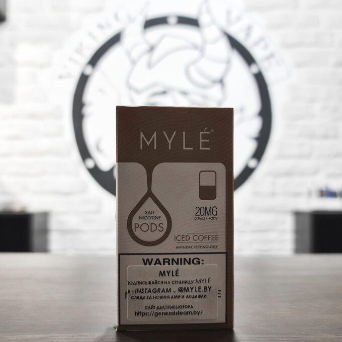 Картридж MYLE V4 Ледяной Кофе 20 mg