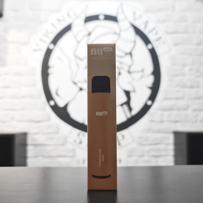 Одноразовая электронная сигарета Fill Bar 1500 затяжек Тропический микс