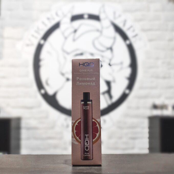 Одноразовая электронная сигарета HQD Cuvie Plus 1200 затяжек Розовый Лимонад