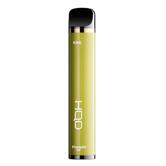 Одноразовая электронная сигарета HQD King Replica 2000 затяжек Ананас