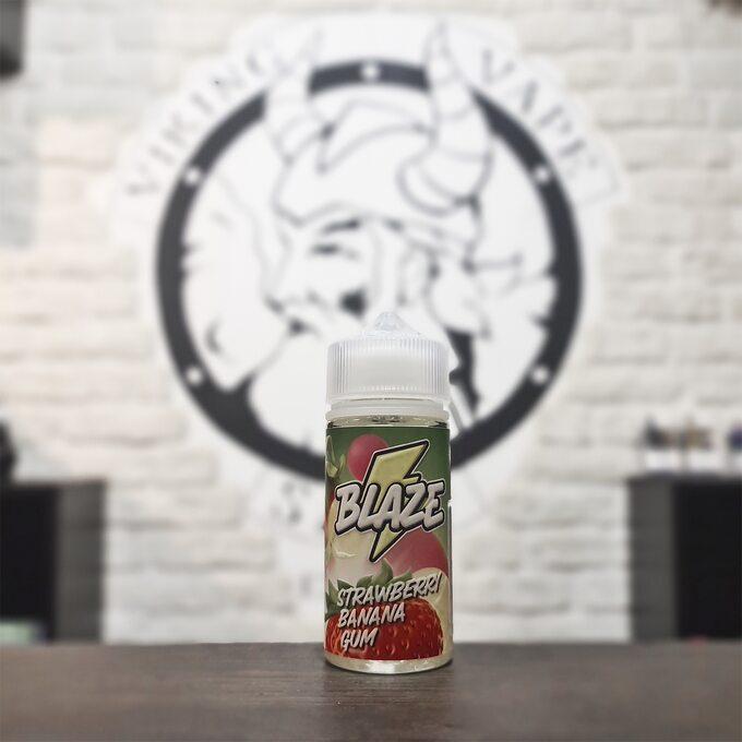 Жидкость для вейпа Blaze Strawberry Banana Gum