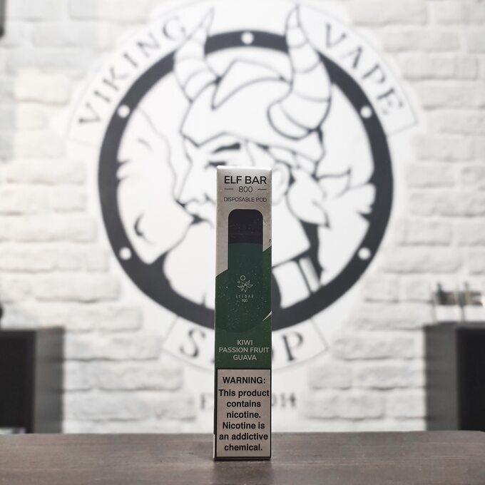 Одноразовая электронная сигарета Elf Bar 800 затяжек Киви Маракуйя Гуава