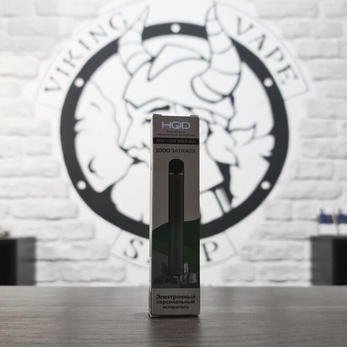 Одноразовая электронная сигарета HQD MELO 1000 затяжек Spearmint