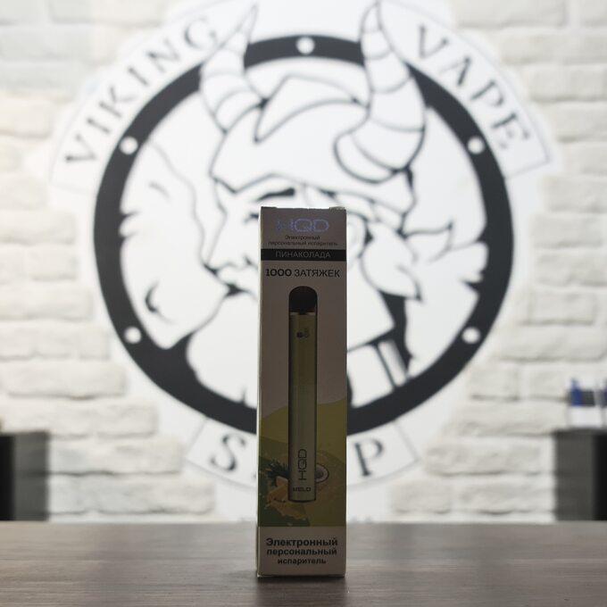 Одноразовая электронная сигарета HQD MELO 1000 затяжек Pinacolada
