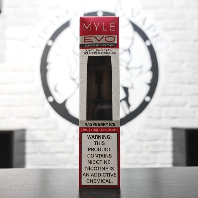 Одноразовая электронная сигарета MYLE EVO 2500 Ледяная Малина