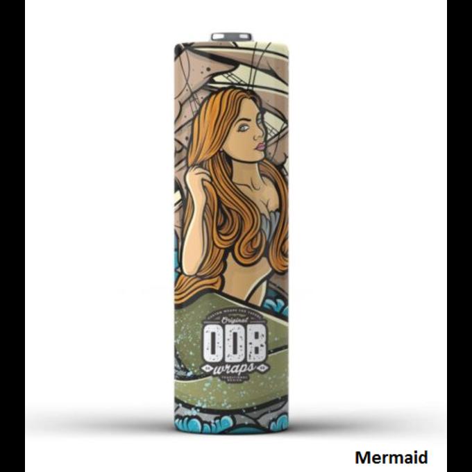 ODB Wraps Mermaid 18650