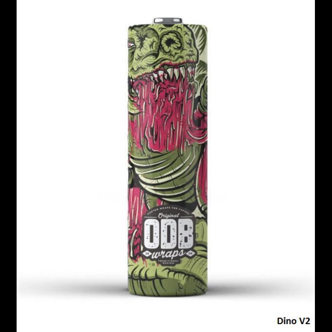 ODB Wraps Dino V2 18650