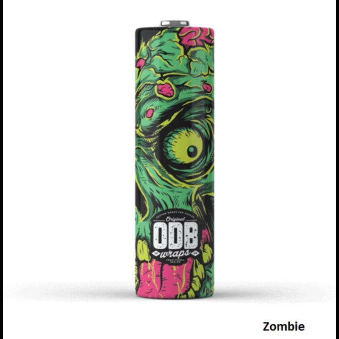 ODB Wraps Zombie 18650