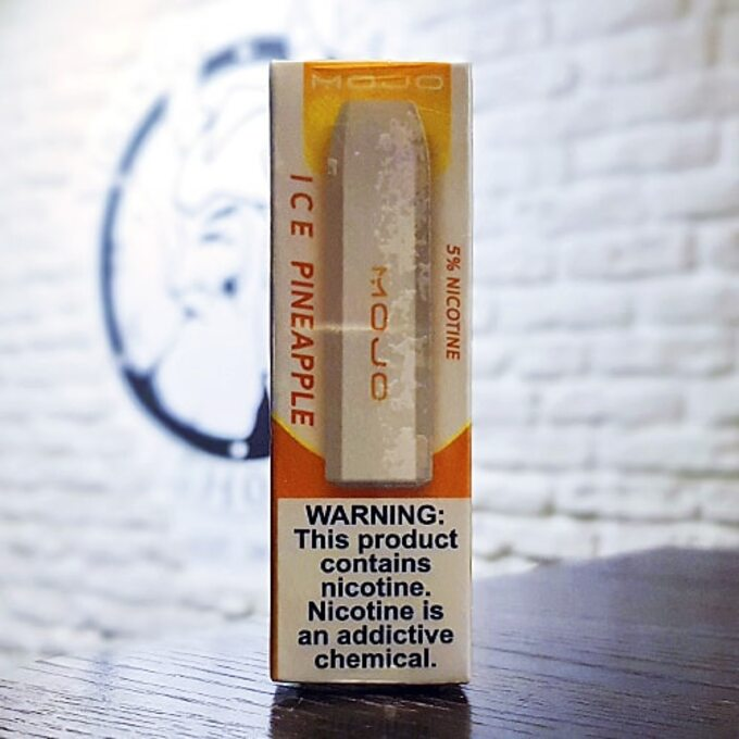 Одноразовая электронная сигарета MOJO 300 затяжек Pineapple Ice