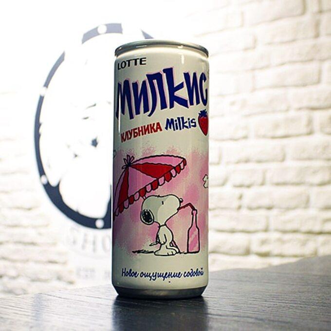 Milkis Strawberry
