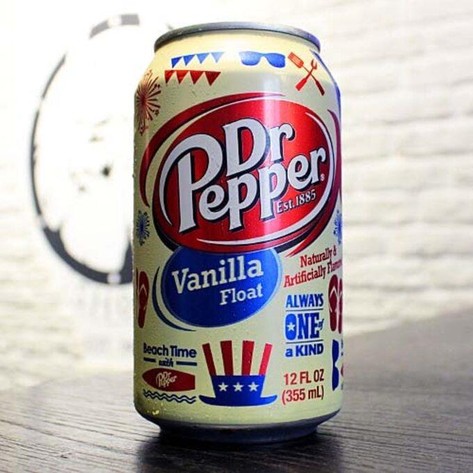 Напиток Dr Pepper Vanilla Float
