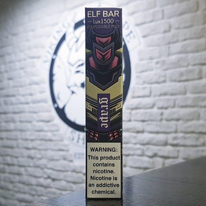 Одноразовый парогенератор Elf Bar Lux 850mah Виноград