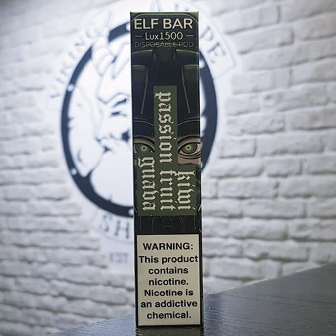 Одноразовый парогенератор Elf Bar Lux 850mah Киви, Маракуйя, Гуава