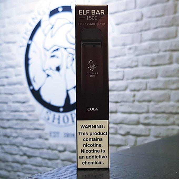 Одноразовый парогенератор Elf Bar 850mAh - Кола